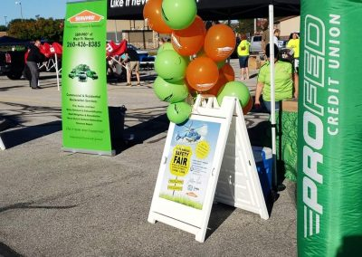 Servpro Booth